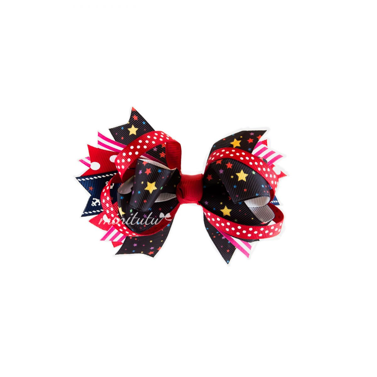 Big Loopy Stacked Bow